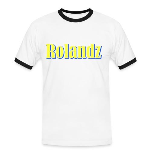T-Shirt - Rolandz - Kontrast-T-shirt herr