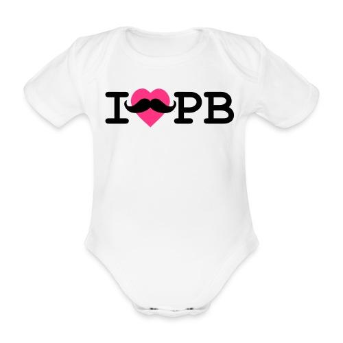Baby-Body Schnauzer Mädel - Baby Bio-Kurzarm-Body
