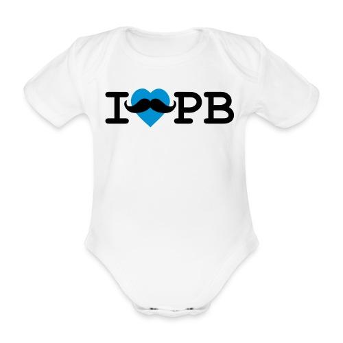 Baby-Body Schnauzer Jungs - Baby Bio-Kurzarm-Body