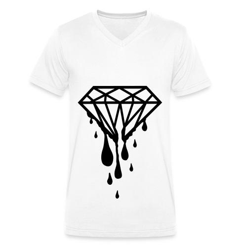 Diamond Shirt - Männer Bio-T-Shirt mit V-Ausschnitt von Stanley & Stella