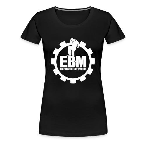 EBM Steelworker Girl Shirt Bl - Frauen Premium T-Shirt