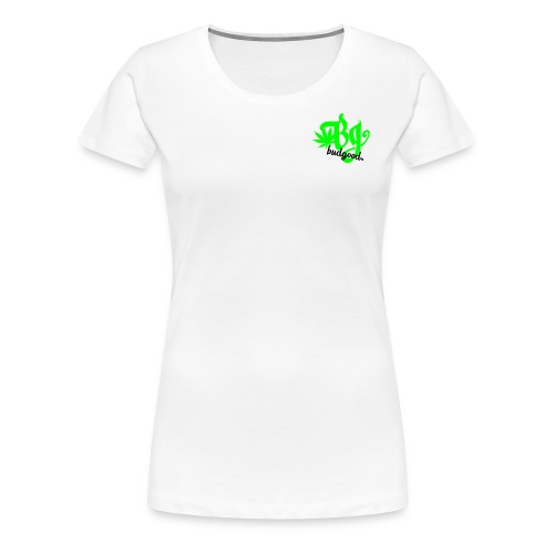 Women's BG Leaf Tee - Women's Premium T-Shirt