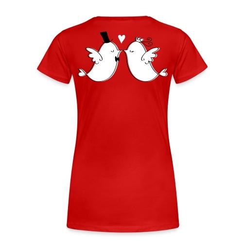 Hier kommt die Braut - Frauen Premium T-Shirt