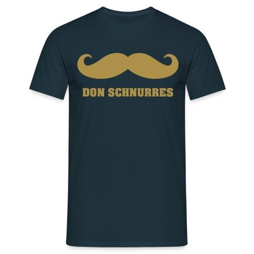Don Schnurres - Blue Gold - Männer T-Shirt