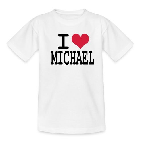 I love michael - T-shirt Ado