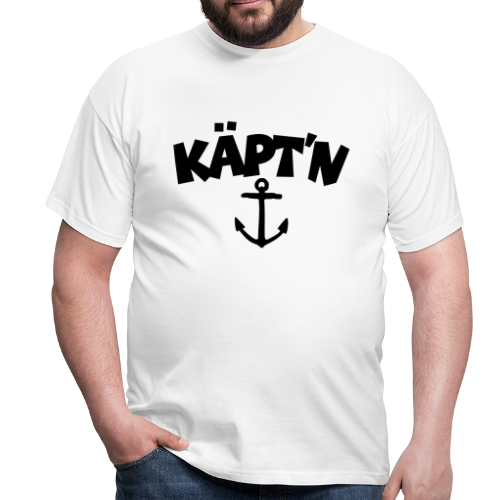 Käpt'n T-Shirt - Männer T-Shirt