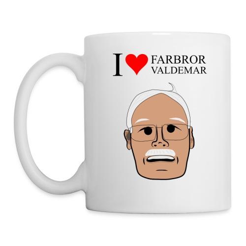 I love Farbror Valdemar - Mugg