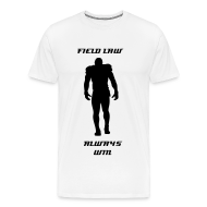 Tee shirts ~ T-shirt Premium Homme ~ Field law Homme