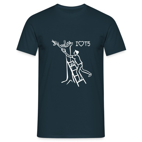 Shirt I love T5 - Männer T-Shirt