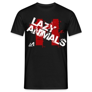 LAzy eleven black - Männer T-Shirt
