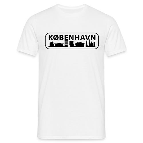 T-shirt København Byskilt - Herre-T-shirt