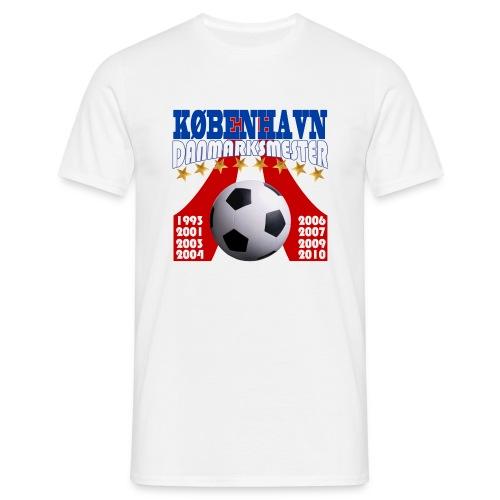 T-shit Campione 2010 - Herre-T-shirt