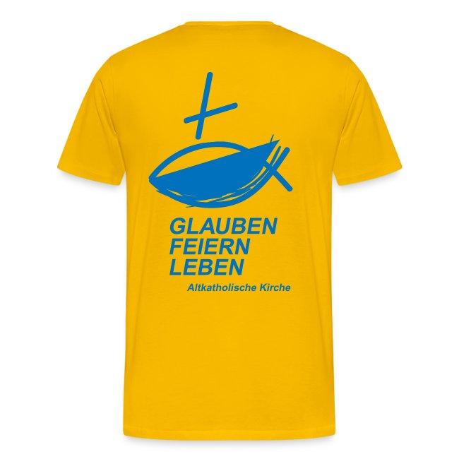 Glauben Feiern Gelb-BLAU