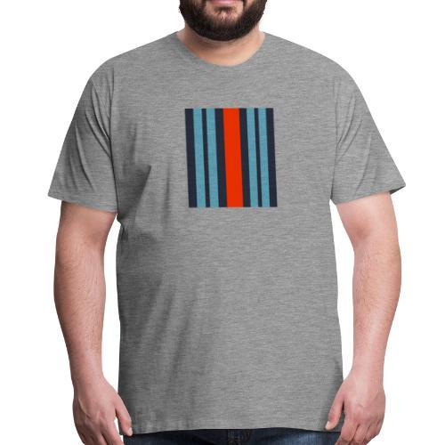 Martini Barcode - Men's Premium T-Shirt