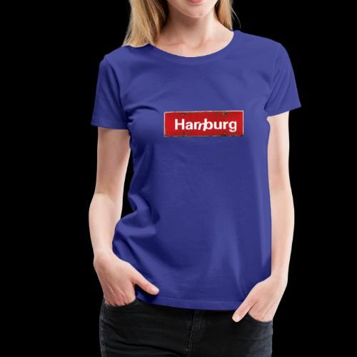 Hamburg oder Harburg? Beides! - Frauen Premium T-Shirt