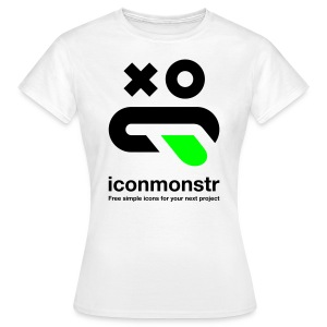 Logo / Women - White - Women's T-Shirt