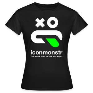Logo / Women - Black - Women's T-Shirt