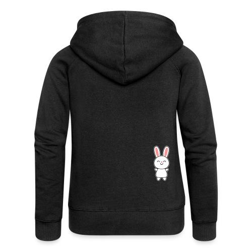 Cute Rabbit / Bunny Puserot - Frauen Premium Kapuzenjacke