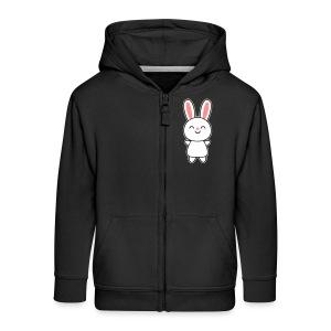 Cute Rabbit / Bunny Puserot - Kinder Premium Kapuzenjacke