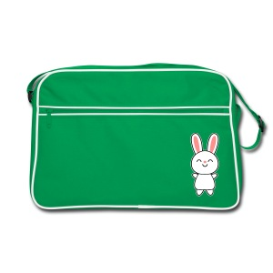 Cute Rabbit / Bunny Laukut & reput - Retro Tasche