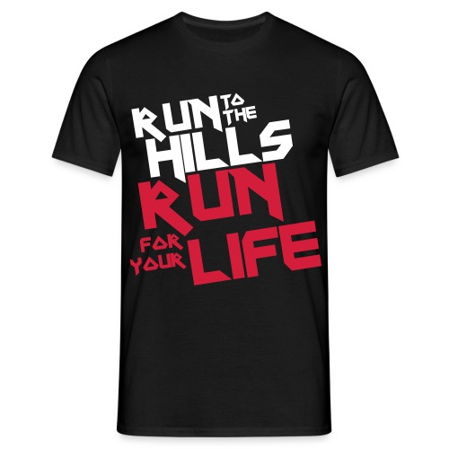 Run to the Hillssss... (8) - Camiseta hombre