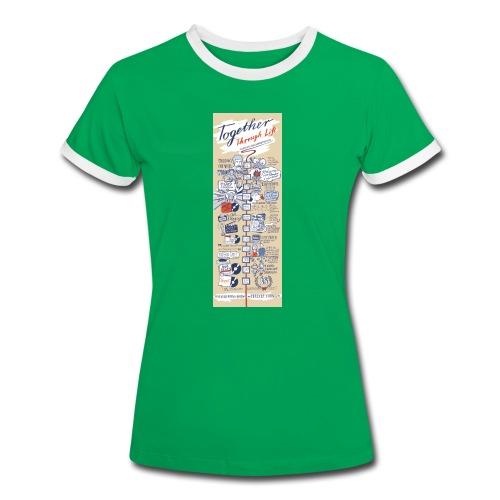 Frauen T-Shirt 2013 - Frauen Kontrast-T-Shirt