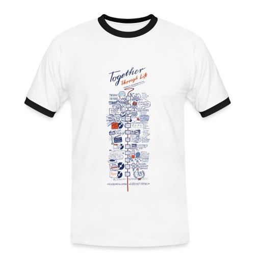 Männer T-Shirt 2013 - Männer Kontrast-T-Shirt