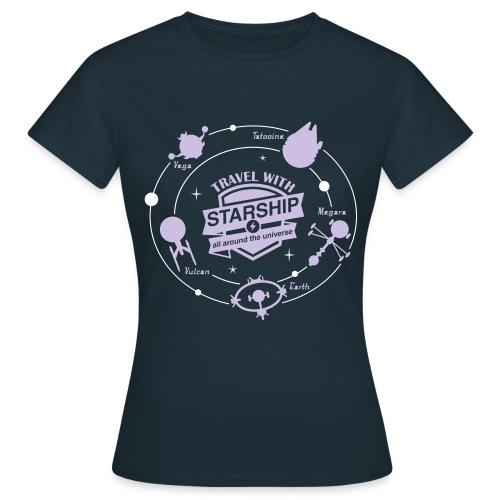 Starship travel Femme - T-shirt Femme