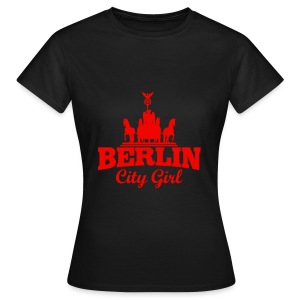 Frauen T-Shirt ( Berlin City Girl ) - Frauen T-Shirt