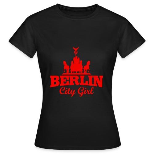 Frauen T-Shirt ( Berlin City Girl ) - Frauen T-Shirt