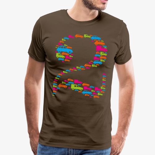Tee-Shirt Deux Homme - T-shirt Premium Homme
