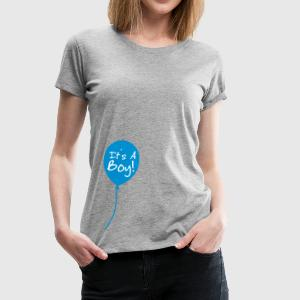 It's a boy T-shirts - Vrouwen Premium T-shirt