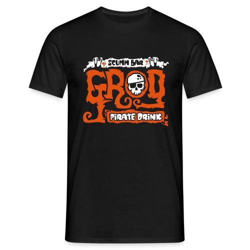 Monkey Island: Scumm Bar Grog (+ Recipe on back) - Camiseta hombre