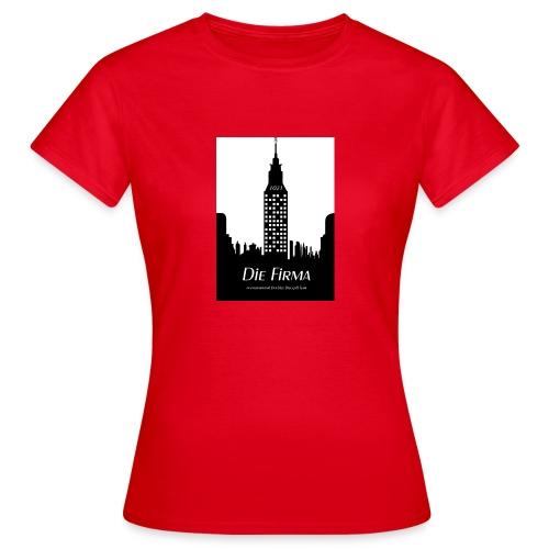 Die Firma official Fanshirtwomen  rot - Frauen T-Shirt