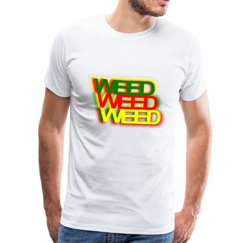 WEED WEED WEED - Männer Premium T-Shirt