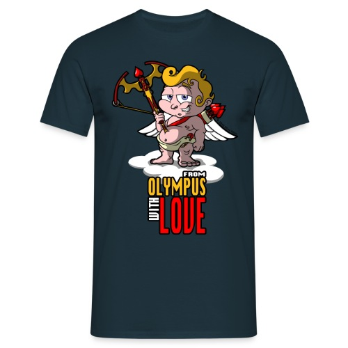 Cupid: Agent Valentine-Grin - Men's T-Shirt
