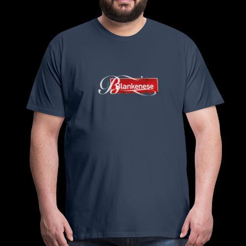 Blankenese-Schild mit Schmuckinitial - Männer Premium T-Shirt