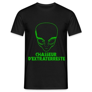 Chasseur d'extraterrestre - T-shirt Homme