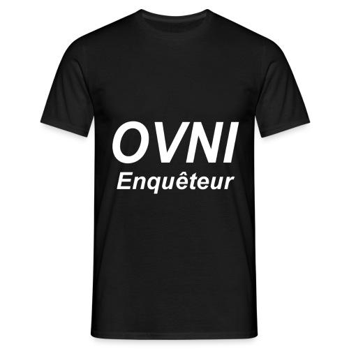 Enquêteur Ovni   - T-shirt Homme
