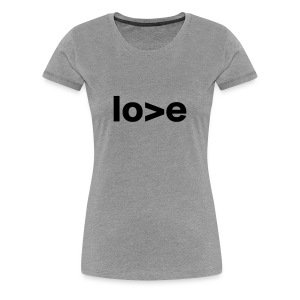 Cococaro // love - Women's Premium T-Shirt
