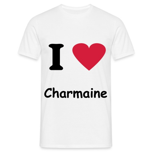 I Love Charmaine - T-shirt Homme