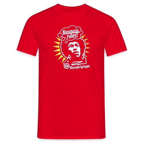 Blasmusic Rules für den Herrn - Männer T-Shirt
