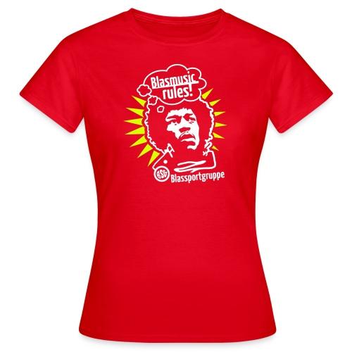 Blasmusic Rules für Mädels - Frauen T-Shirt