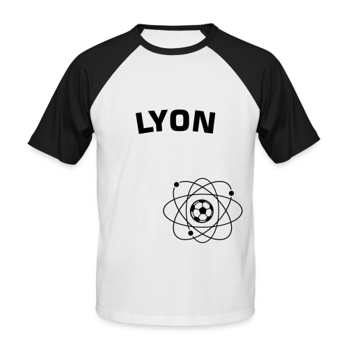 Lyon universe - T-shirt baseball manches courtes Homme