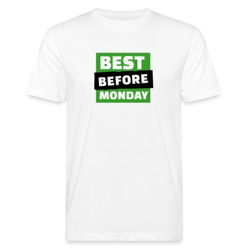 Logo Bio T-Shirt Vintage - Männer Bio-T-Shirt