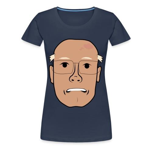 Orolig Åke - Premium-T-shirt dam