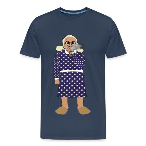 Kerstin röker - Premium-T-shirt herr