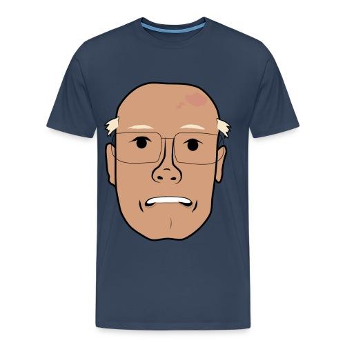 Orolig Åke - Premium-T-shirt herr