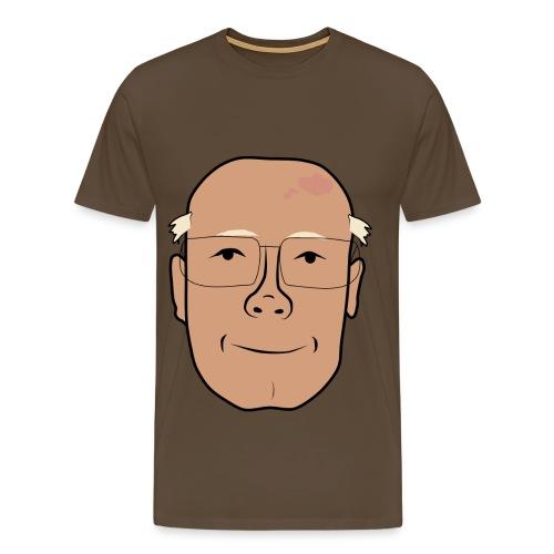 Åke ler i mjugg - Premium-T-shirt herr
