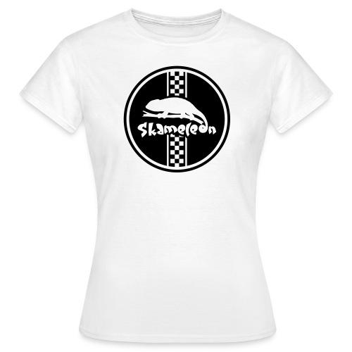 Logo Kreis - Frau weiss - Frauen T-Shirt